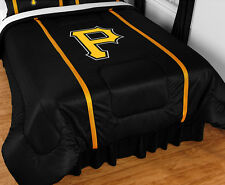 PITTSBURGH PIRATES SIDELINES COMFORTER &  TOSS PILLOW