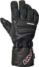 HMK Mens Action 2 Insulated Leather Gauntlet  Snowmobile Gloves with Goggle Wipe