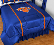 NEW YORK KNICKS SIDELINES COMFORTER &  TOSS PILLOW