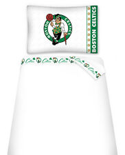 BOSTON CELTICS SHEET SET, TOSS PILLOW & PILLOW SHAM