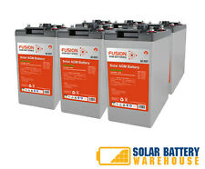12V/ 24V/ 48V 690 AH OFF GRID SOLAR DEEP CYCLE AGM BATTERY BANK