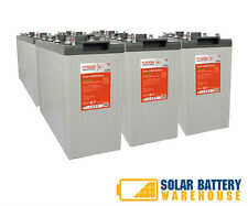 12V/ 24V/ 48V 1380 AH OFF GRID SOLAR DEEP CYCLE AGM BATTERY BANKS