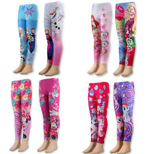 BNWT Official Girls CHARACTER Leggings Age 2-8 Yrs