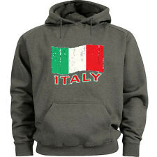 Italy hoodie Italian flag sweatshirt Men's hooded sweat shirt Italy flag design