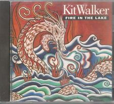 Kit Walker FIRE IN THE LAKE label stamped PROMO CD ~ Excellent USED Condition