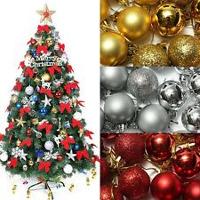 24X Christmas Tree Decor Hot Ball Bauble Hanging Xmas Party Ornament Decor Home