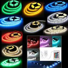 5M 150 300 600 SMD LED Strip Light Multicolour RGB WARM WHITE RED BLUE