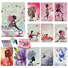 For SAMSUNG GALAXY Tab A 8.0 T350 T355 pu leather case Bling Diamond stand cover