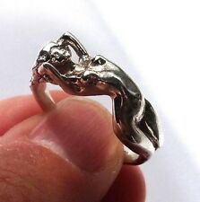 Erotic Ring, Adult Jewelry, Nude Girl, Naked Lady Ring, Nude Woman, Adult Ring