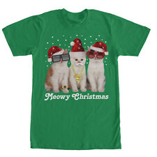 Lost Gods Meowy Christmas Cats Mens Graphic T Shirt - Fifth Sun