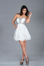Short Sweetheart Prom Strapless Cocktail Dress Formal Plus Size Party Event