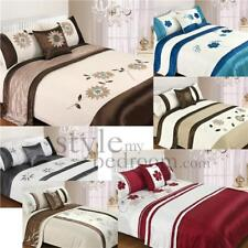 5 Piece Bed in a Bag Bedding Duvet Quilt Cover Set incl Runner & Cushion cover
