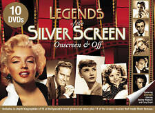 NEW Legends of the Silver Screen: Onscreen & Off (10-DVD)