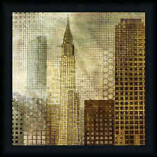 Chrysler Building 20x20 Contemporary Architecture Art Print Framed Picture