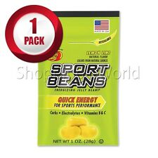 LEMON LIME Energizing SPORT BEANS ~ Jelly Belly ~ 1 Pack ~ Guaranteed Fresh
