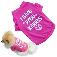 Hot sell New gift Pet Puppy Summer Shirt Small Dog Cat Pet Clothes Vest T Shirt