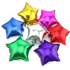5/10pcs 18'' Pentagram Mylar Balloon Party Wedding Birthday Decor Multicolor