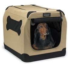 Collapsible Dog Kennel Folding Crate Portable Pet Travel Cage House Training New