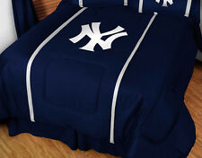 NEW YORK YANKEES COMFORTER, TOSS PILLOW & PILLOW SHAM