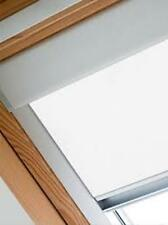 BLACKOUT ROOF WINDOW ROLLER BLINDS FOR VELUX WINDOWS-HESSIAN 8 COLOURS AVAILABLE