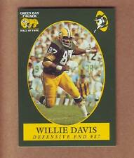 TOUGH Willie Davis Green Bay Packers Hall of Fame - Grambling Tigers - Lombardi