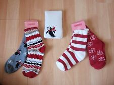 NWT GIRLS GYMBOREE SOCKS, TIGHTS PENGUIN CHALET SZ 12-24 MONTH, 3-4 YEARS