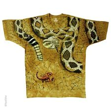 NEW! Southwestern Design Rattle Snake Tie Dye T-Shirt 2 Sided