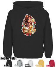Mens Womens Beautiful Disney Princesses Tattoos Telegrafixs Sweatshirt Hoodie