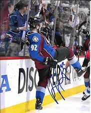 GABRIEL LANDESKOG 8X10 VICTORY PHOTO COLORADO AVALANCHE STAR W/COA