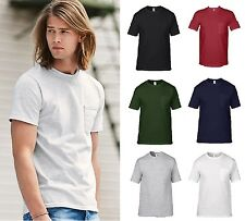 Anvil Adult Men's 100% Cotton Midweight Pocket Tee Shirt T-Shirt 783-New!!