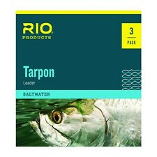Rio Fly Fishing Hand Tied Saltwater Tarpon Leader - 3 Pack