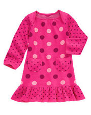 NWT Gymboree SWEET MUSIC Size 2T 3T 5T Polka Dot Sweater Dress