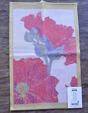 Ekelund Towel - Daiva Red Floral Kitchen or Hand Towel