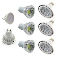 E27/E14/GU10/MR16 LED Spot Light Bulb CREE/SMD/COB Lamp 6/7/9/12/15/18/24/30/36W
