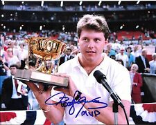 BOSTON RED SOX ROGER CLEMENS SIGNED ALL STAR GAME 8X10 MVP AWARD PHOTO INCS +