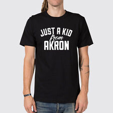 Just a Kid from Akron Ohio T-Shirt ( Akron OH Sports Shirt )