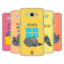 HEAD CASE DESIGNS WILBUR THE CAT HARD BACK CASE FOR SAMSUNG PHONES 3