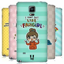 HEAD CASE DESIGNS LIFE OF A FAN GIRL BATTERY COVER FOR SAMSUNG PHONES 1