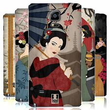 HEAD CASE DESIGNS GEISHA REPLACEMENT BATTERY COVER FOR SAMSUNG PHONES 1