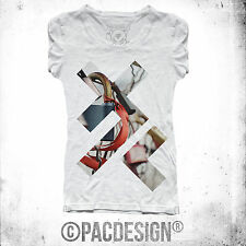 T-SHIRT X PATTERN INDIE HIPSTER SWAG FASHION VINTAGE VINTAGE HAPPINESS DK031