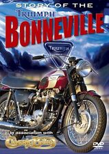 Story of the Triumph Bonneville (New DVD) Motocycles Bikes