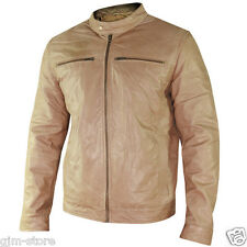 SFT-00105 Xelement Mens Moto Racer Saddle Buttery Soft Cowhide Leather Jacket