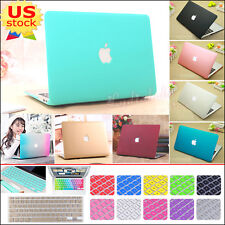 """Ultra-thin Quicksand Matte Hard Case+Keyboard Cover for MacBook Air Pro 11"""" 13"""""""