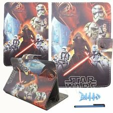 "9.7"" 10"" 10.1 inch Universal tablet case stand cover popular cartoon star wars"