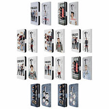 OFFICIAL ONE DIRECTION GROUP PHOTO SOLO LEATHER BOOK WALLET CASE FOR LG PHONES 1