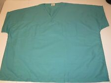 EWC Scrub Reversible V Neck Uniform Top Unisex SSVAS Green XS L FREE SHIPPING
