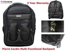 Pierre Cardin Multi Functional Laptop Travel Backpack New Backpack Bag  PC2054