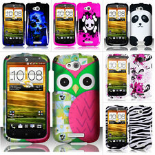 For HTC One VX PM36100 AT&T Colorful Design Hard Case Snap On Cover Accessory