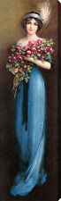 Christina by J. Knowles Hare (:Stretched Canvas Print of Vintage Art:)