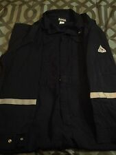FRC Bulwark Coveralls Navy blue With Safety Stripes